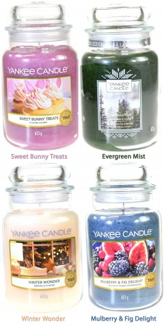 winter wonder scented large 623g yankee candle