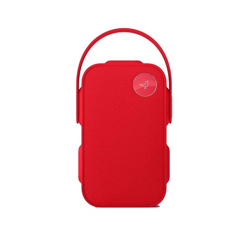 Libratone One Click Wireless Splash Proof Bluetooth Compact Speaker Cerise Red